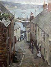 Stanhope Alexander Forbes (1857-1947) Newlyn, Cornwall, 18 x 14in.