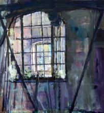 Jason Bowyer (1957-) 'Window to Window', 12 x 11in.