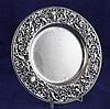 A late Victorian silver dish by William Comyns, 10.5 oz.