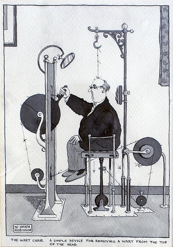 Heath Robinson The Unsung Hero Of British Eccentricity
