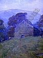 Frank Bramley (1857-1915) Hills in Cumberland 13.5 x 10in.