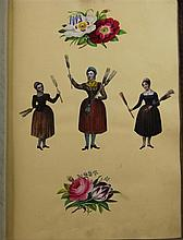 Three 19th century scrap albums,
