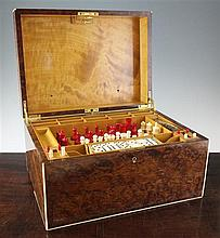 A 1930's Alfred Dunhill games compendium, 16in.