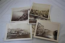 A collection of thirty four late 19th century photographs,