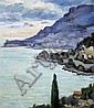 Duncan Grant (1885-1978) Roquebrune, 21 x 18in.