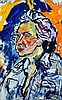 § John Bratby (1928-1992) Portrait of Michael Winner, 30 x 20in., John Bratby, £180