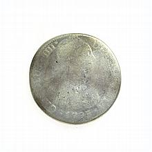 1793 Eight Reales American First Silver Dollar Coin