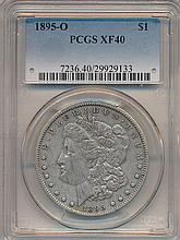 *1895pO Morgan $1 PCGS X40 Mintage Of 450,000 Coin