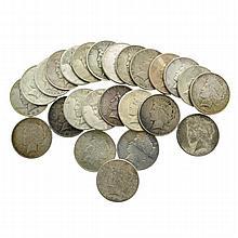 25 Misc.Silver Dollar Coins