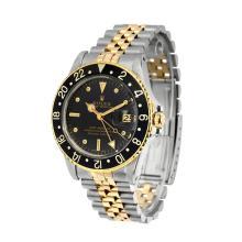 *Rolex Two-Tone Submariner Black & Gold