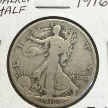 *1916 Walker Half Dollar Coin (JG)