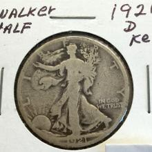 *1921-D Walker Half Dollar Coin (JG)