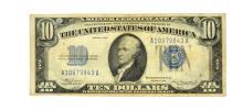 1934 $10 Blue Seal Note Silver Certificate