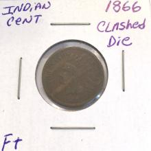 *1866 Indian Cent Coin (JG)