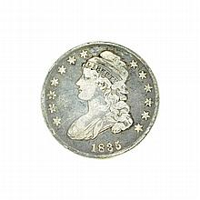 1835 Capped Bust Half Dollar Coin