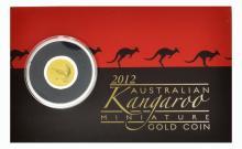 2012 Australian Kangaroo 999 Gold Coin