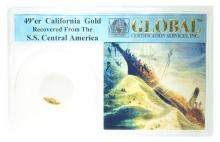 49'er Global California Gold S.S. Central America Coin