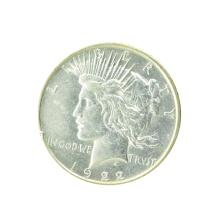 1922-D Peace Silver Dollar Coin