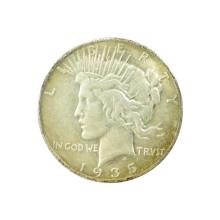 1935-S Peace Silver Dollar Coin