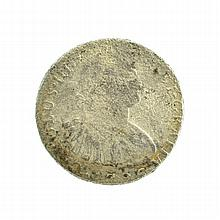 X796 Eight Reales American First Silver Dollar Coin