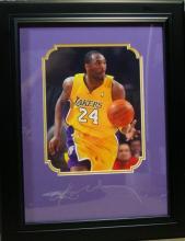 Kobe Bryant Plate Signature!