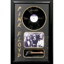 Pink Floyd Framed Album with Mini Guitar