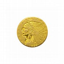 1925-D $2.5 U.S. Indian Head Gold Coin