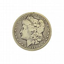 1890-CC Morgan Dollar Coin