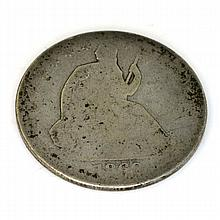 186X Liberty Seated Half Dollar Coin