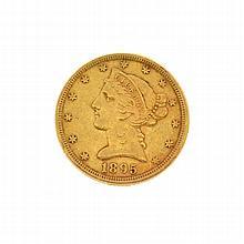 1985 $5 U.S. Liberty Head Gold Coin