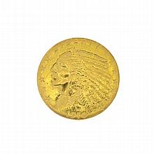 1910 U.S. $2.5 Indian Head Gold Coin