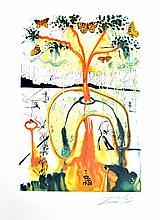 SALVADOR DALI (After) A Mad Tea Party Print, 290 of 500