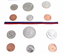 1987 U.S. Uncirculated D And P Mint Marks Coin Set