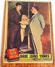 1962 Topps #136 Babe Ruth Joins Yanks