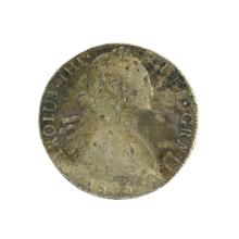 1805 Eight Reales American First Silver Dollar Coin