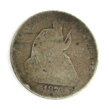 1875 Liberty Seated Half Dollar Coin