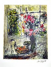 MARC CHAGALL (After) Fruit and Flowers Print, 341 of 500