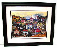 WOOSTER SCOTT Wonders Of Our Nation 205/500 Museum Framed Print