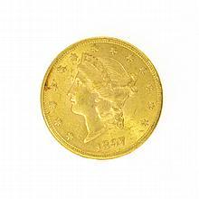 *1897-S $20 U.S. Liberty Head Gold Coin
