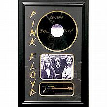 Pink Floyd Framed Album with Mini Guitar