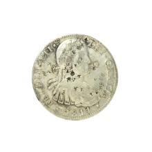 1811 Eigth Reales American First Silver Dollar Coin