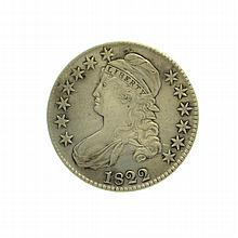 1822 Capped Bust Half Dollar Coin