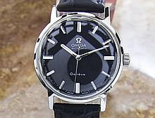 *Vintage Swiss Omega Geneve Stainless Steel Automatic Watch 70's (SI SCX55)