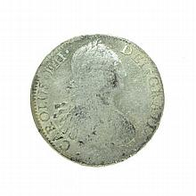 1XXX Eight Reales American First Silver Dollar Coin