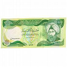 10,000 Iraqui Dinar Note