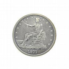 1877-S U.S. Trade Dollar Coin