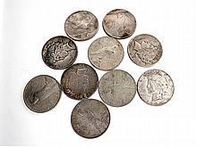 10 Misc.Morgan Dollar Coin