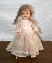 Early Porcelain Doll 1930's -P-