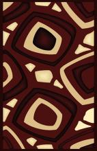 Gorgeous 4x6 Emirates Burgundy 522 Rug  Plush, High Quality Made in Turkey (No Rug Sold Out Of Country)