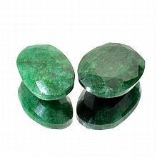 APP: 4k 53.00CT Oval Cut Emerald Beryl Parcel